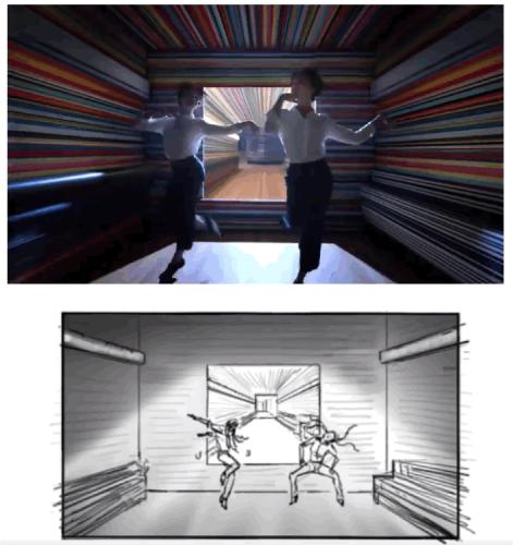 映像とコンテの比較 – Apple HomePod篇